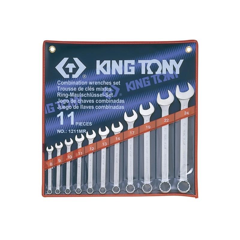 Trousse de clés mixtes métriques - 11 pièces - 1211mr