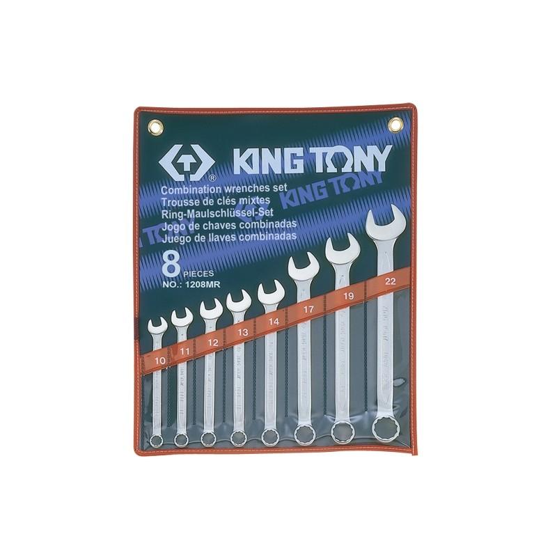 Trousse de clés mixtes métriques - 8 pièces - 1208mr