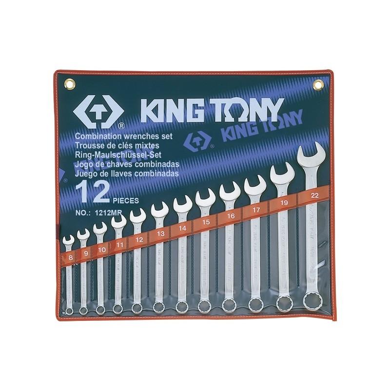 Trousse de clés mixtes métriques - 12 pièces - 1212mr