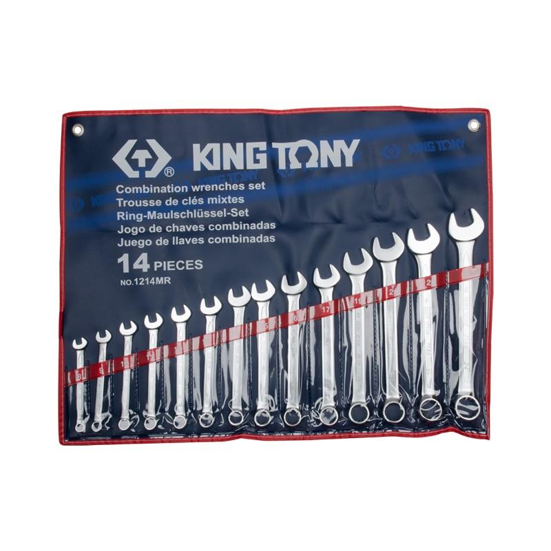 Trousse de clés mixtes métriques - 14 pièces - 1214MR
