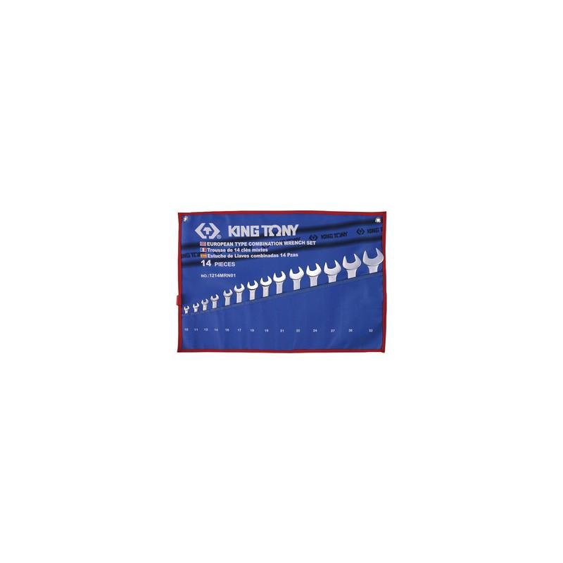 Trousse de clés mixtes métriques - 14 pièces - 1214MRN01