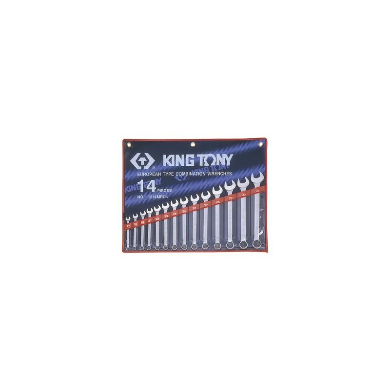 Trousse de clés mixtes métriques - 14 pièces - 1214MR04