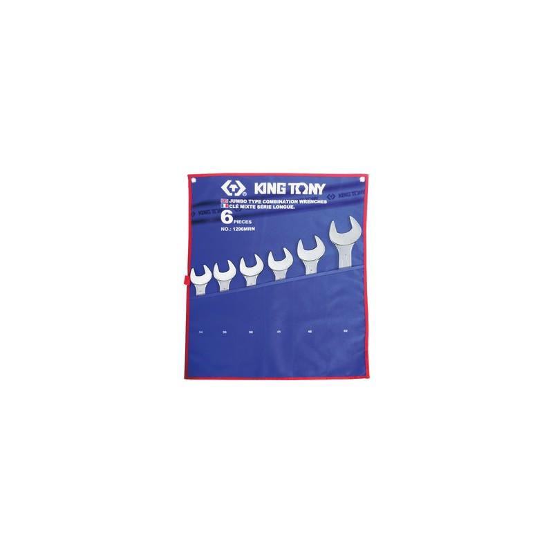 Trousse de clés mixtes métriques - 6 pièces - 1296MRN