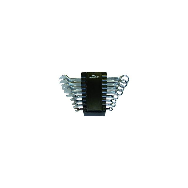 Rack de clés mixtes métriques - 8 pièces - 1238MR