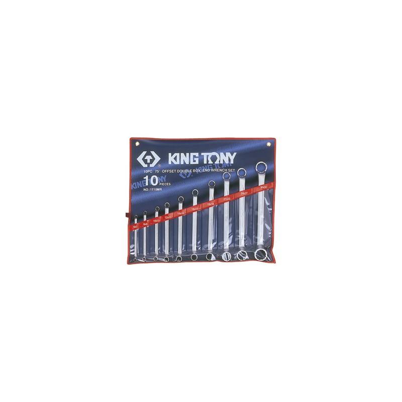 Trousse de clés polygonales contrecoudées métriques - 10 pièces - 1710MR