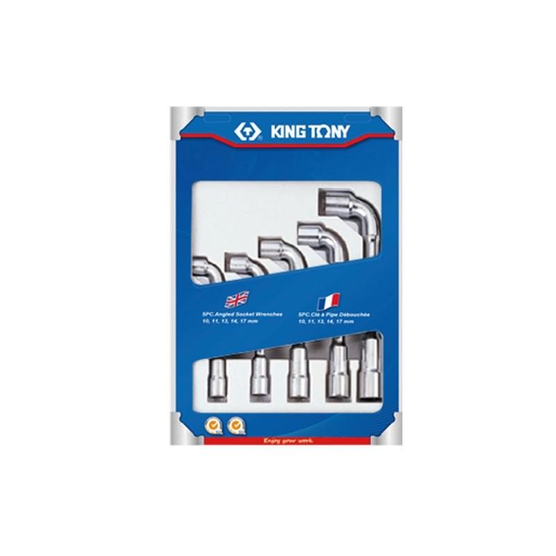 Jeu de clés à pipe métriques - 5 pièces - 1805MR