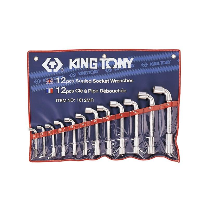 Trousse de clés à pipe métriques - 12 pièces - 1812MR