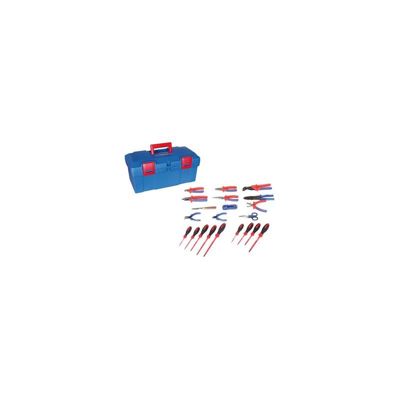 Caisse à outils électricité - 21 pièces - 41521ELECT