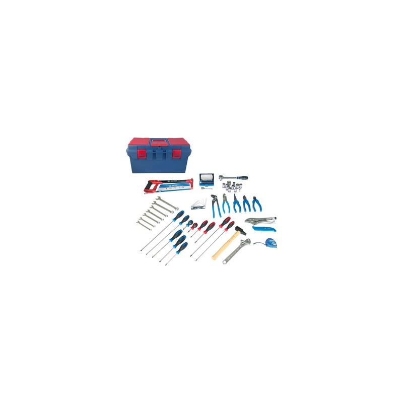 Caisse à outils électrisé - électromécanique - 67 pièces - 41567ELECT