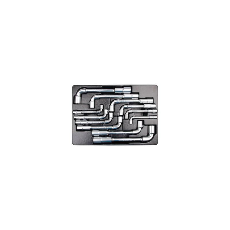 """Thermoformé de clés à pipe """"6x12 pans"""" - 12 pièces - 91812MR"""