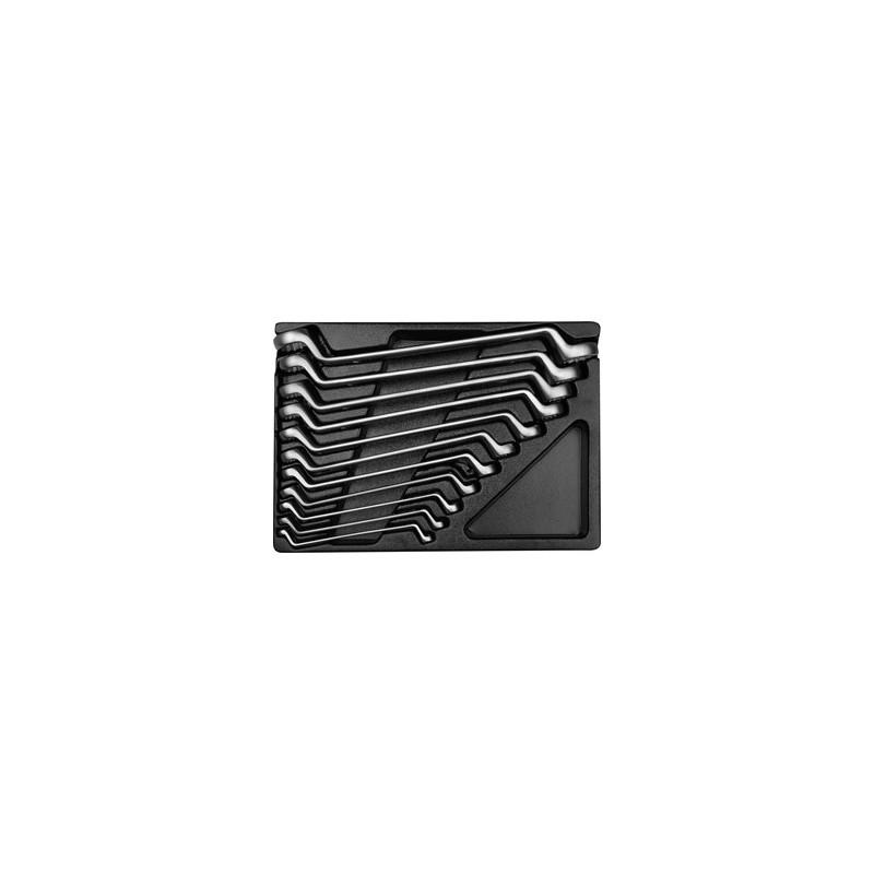 Thermoformé de clés polygonales - 11 pièces - 91711MR