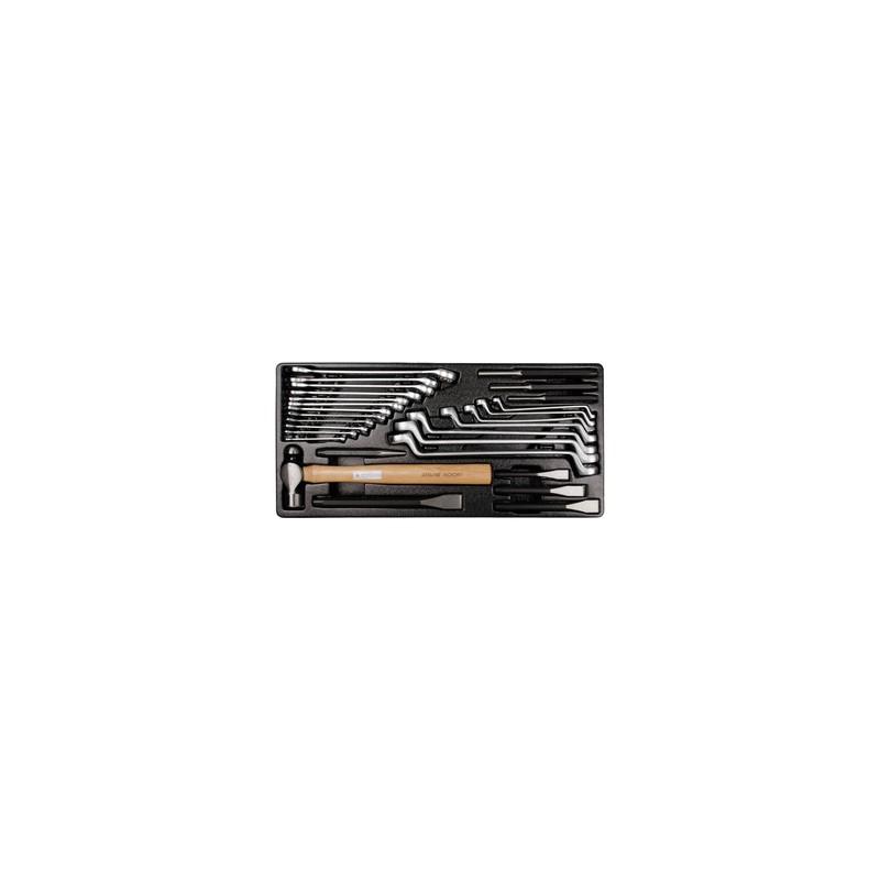 Thermoformé de clés en pouces et d'outils de frappe - 28 pièces - 990128SR