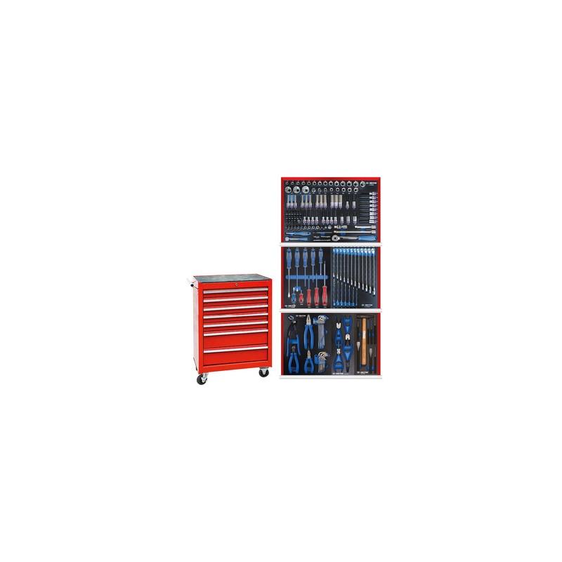 Servante 87A347BA + 161 outils plateaux EVAWAVE 934161MRE02