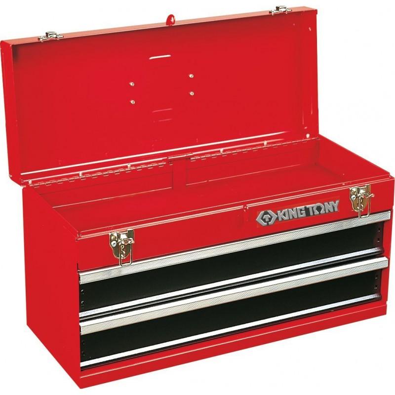Coffre métallique transportable, Caisse à outils transportable