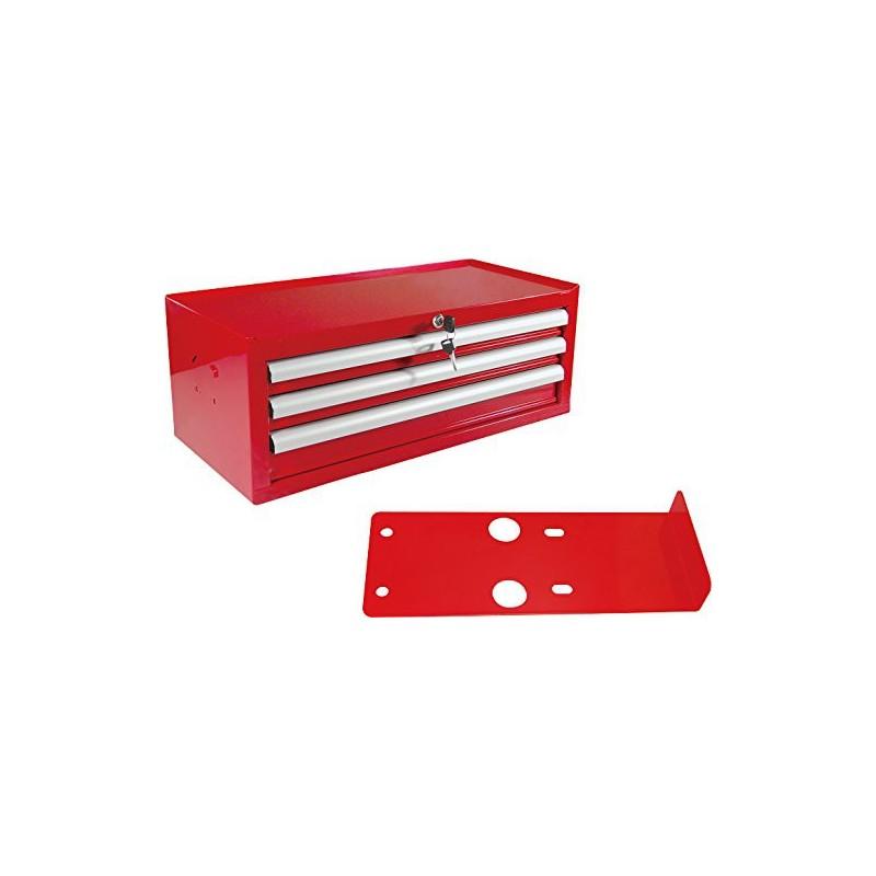Coffre à outils 3 tiroirs pour établi King Tony