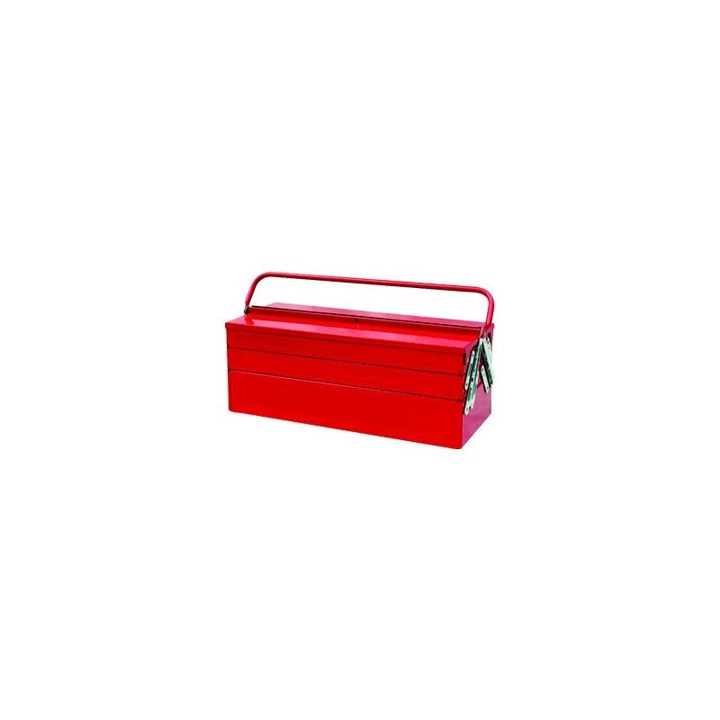 Caisse à outils métallique - 5 compartiments King Tony