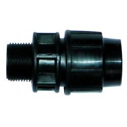 Raccord pp union mâle fileté 3/4 diamètre 32 mm