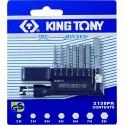 Jeux de Tournevis en L avec embouts 6 Pans King Tony 2138pr