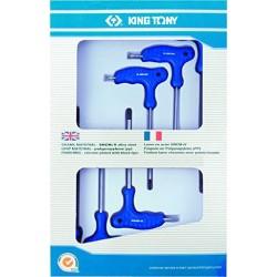 Jeu de 6 clés mâles TORX à poignée en L King Tony 22306pr