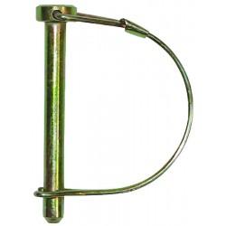 Goupille à arceau diamètre 8 mm longueur 70 mm (par 5)