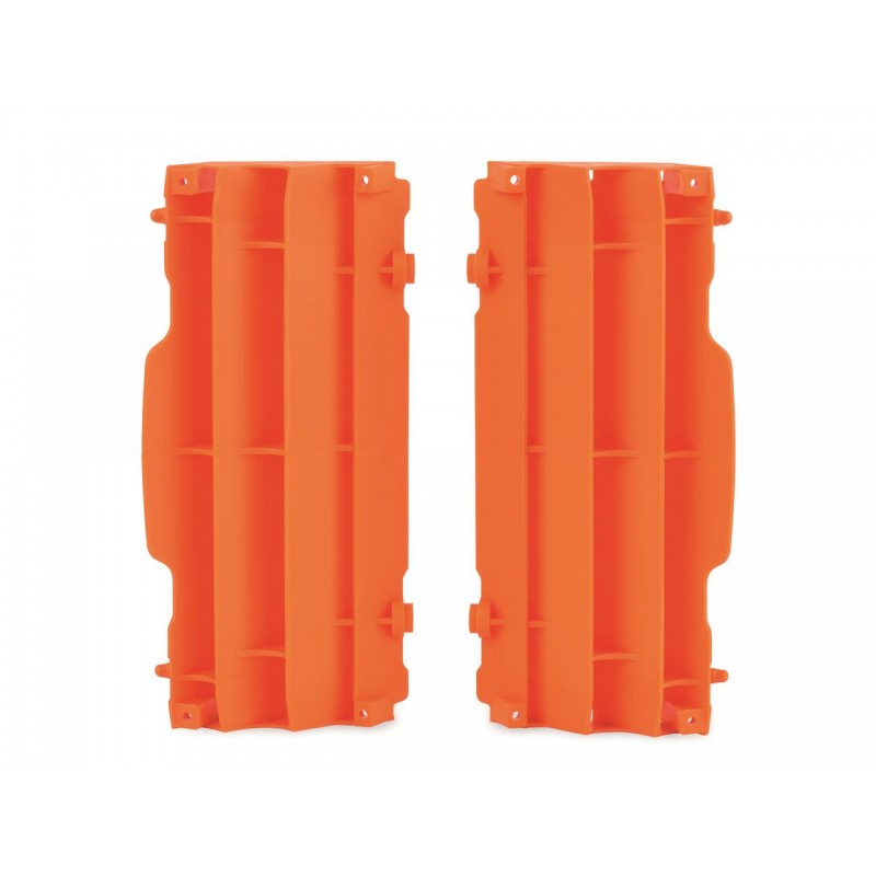 CACHE RADIATEUR POLISPORTSX/SX-F125 &+ 07-15 ORANGE