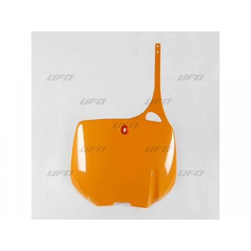 PLAQ. FRONT. KTM 93-97125-250-300-360-400-620 ORANGE KTM 97