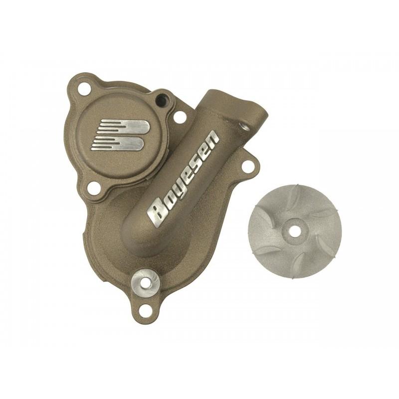 CARTER POMPE A EAU+HELICESX-F250-350 16 FC250-350 16 / MAGNESIUM