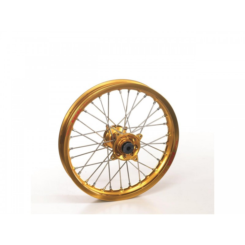 ROUE AV. HAAN WHEELSYZ125/250 96-17 / 21X1.60 JANTE OR MOYEU OR