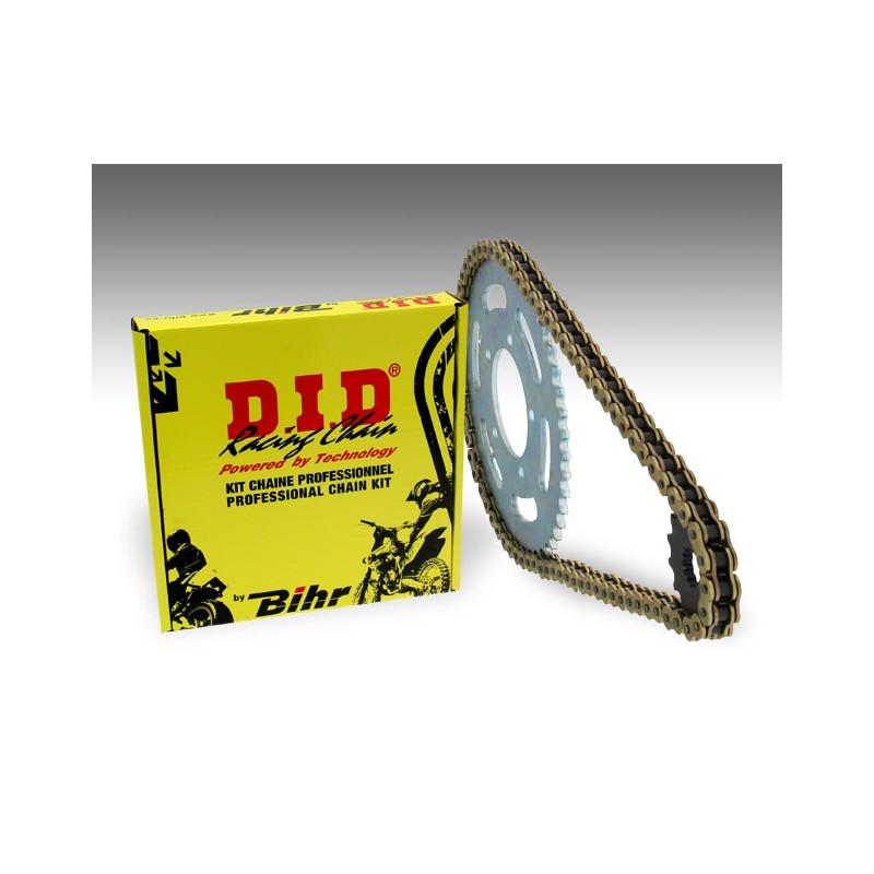 KIT CHAINE D.I.D 520 ERT2KAWASAKI KLX450R 08-14 13/50 (520 type ERT2)