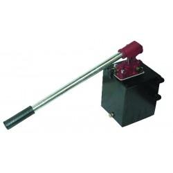 Pompe hydraulique à main 5 litres / volant de chute