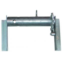 Moulinet de remorque longueur 300 mm droit