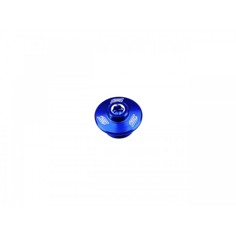 BOUCHON CARTER HUILE SCARKX250F 04-17/KX450F 06-17 BLEU
