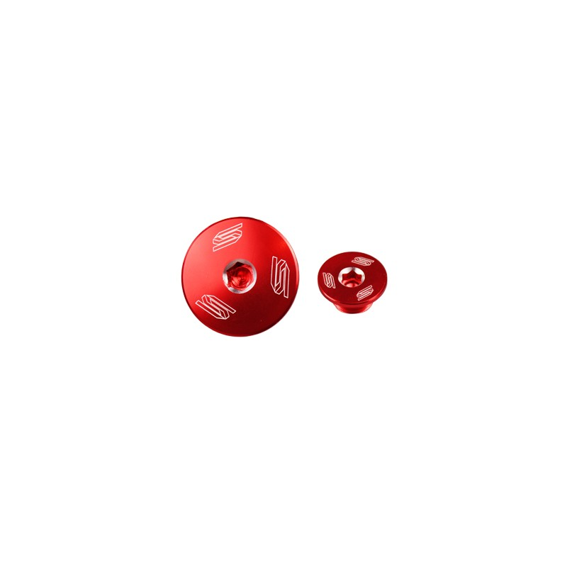 BOUCHON MOTEUR LAT. SCARCRF450R X 02-13 - ROUGE CRF250 10-13/CRF150 0