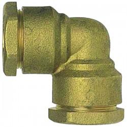 Coude laiton tuyau 20 mm à serrage extérieur