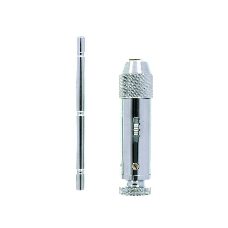PORTE TARAUD A CLIQUET 2 A 5mm TUBE