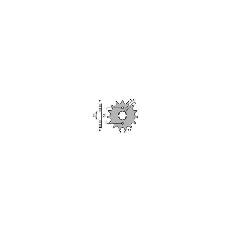 PIGNON 12 DENTSKX125 85-91