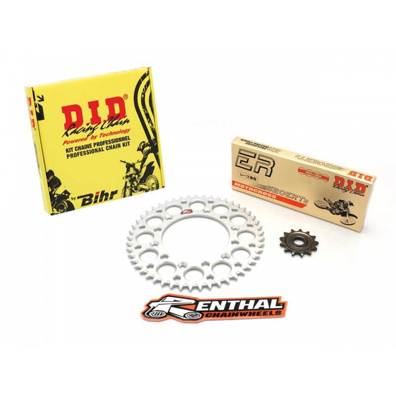 KIT CHAINE DID/RENTHALHONDA CRF450RX 17-17 13/49 520 VX2 114M