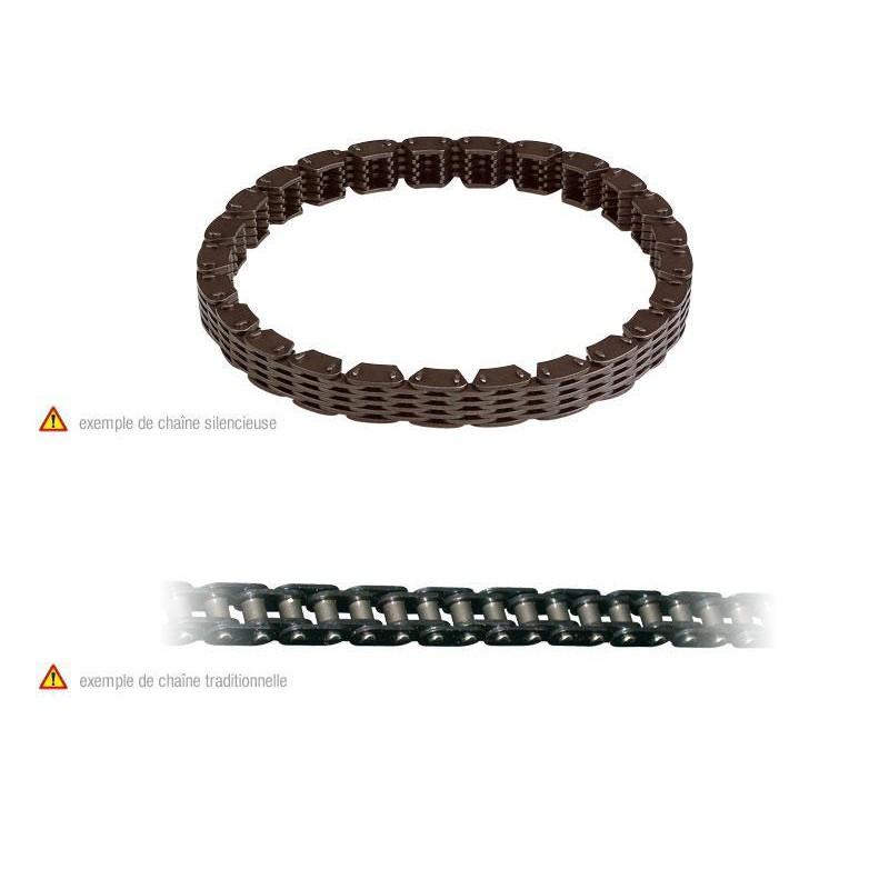 CHAINE DE DISTRI 128 MAILDRZ400 00-13/LTZ400 03-13 DVX400 04-08/FERME