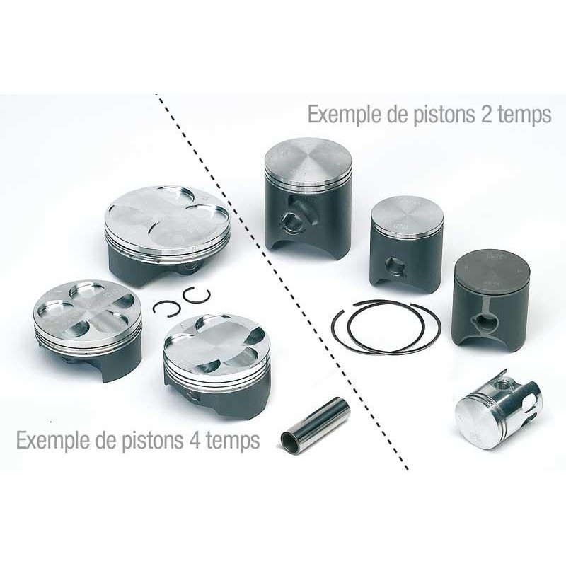 PISTON QR50 / PW50 40MMCD1574 CW10 S630 400407 (604054 PW50)