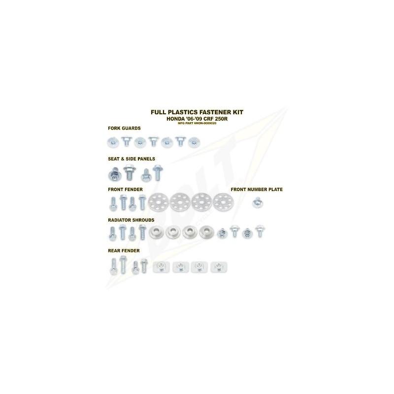 BOLT KIT VIS PLAST. HONDA00-07 CR125/250 00-04 CRF450R