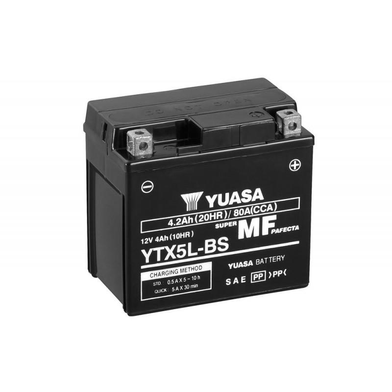 BATT. YUASA YTX5L-BS