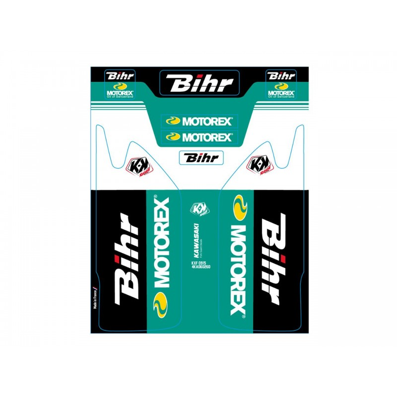 DECO DE FOUR.BIHR-MOTOREXKAWASAKI KXF 250 09-15 KXF 450 09-15