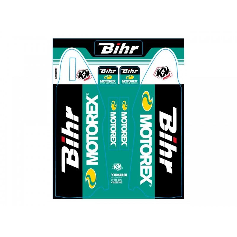 DECO DE FOUR.BIHR-MOTOREXYAMAHA YZF 250 - 10-15 YZF 450 10-15