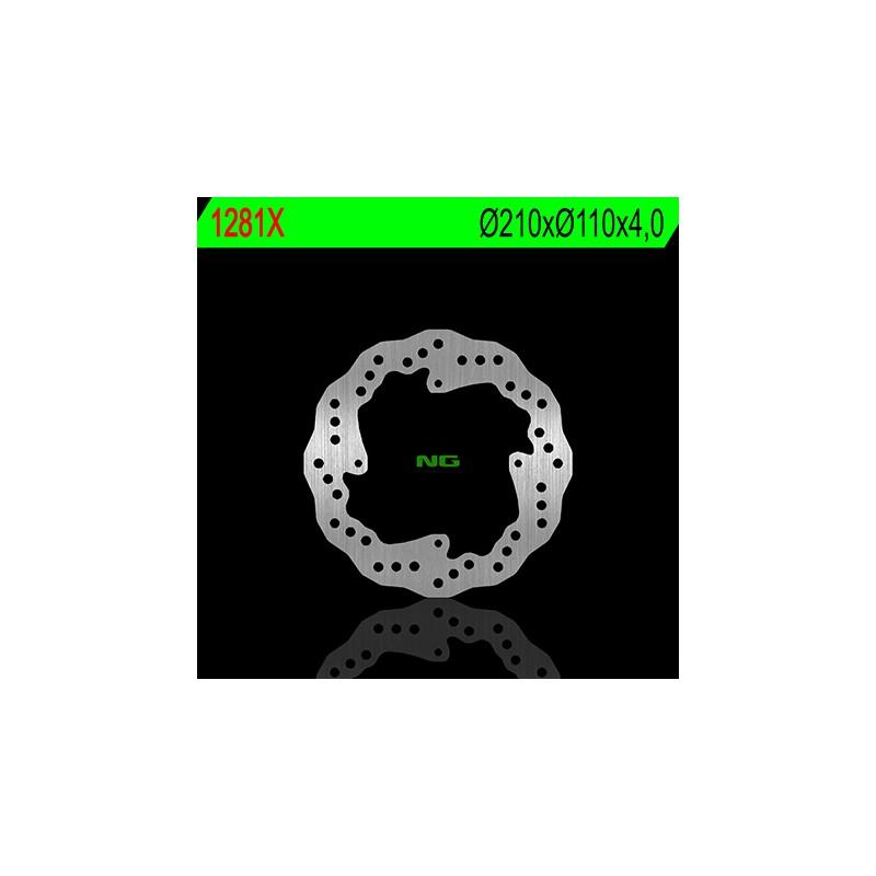 DISQUE PETALE AR FIXESX85 11-13 Ø210 MM
