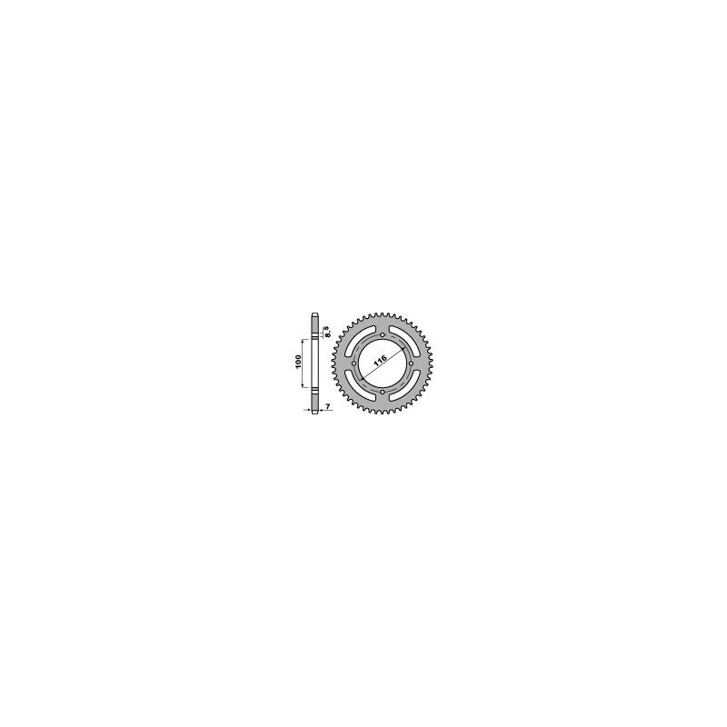 COURONNE ACIER 50 DENTSKX85 G.ROUE 01-13 (428)