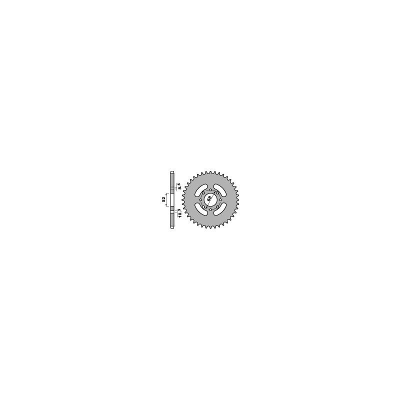 COURONNE ACIER 38 DENTSKLX110 '10-11