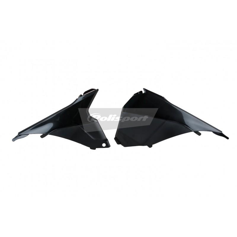 CACHE BOITE AIR POLISPORTSX/SX-F 125 &+ 13-15 NOIR
