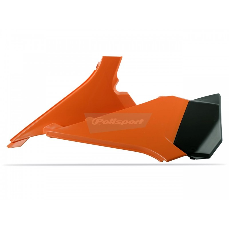 CACHE BOITE AIR POLISPORTSX/SX-F 125 &+ 11-12 ORANGE