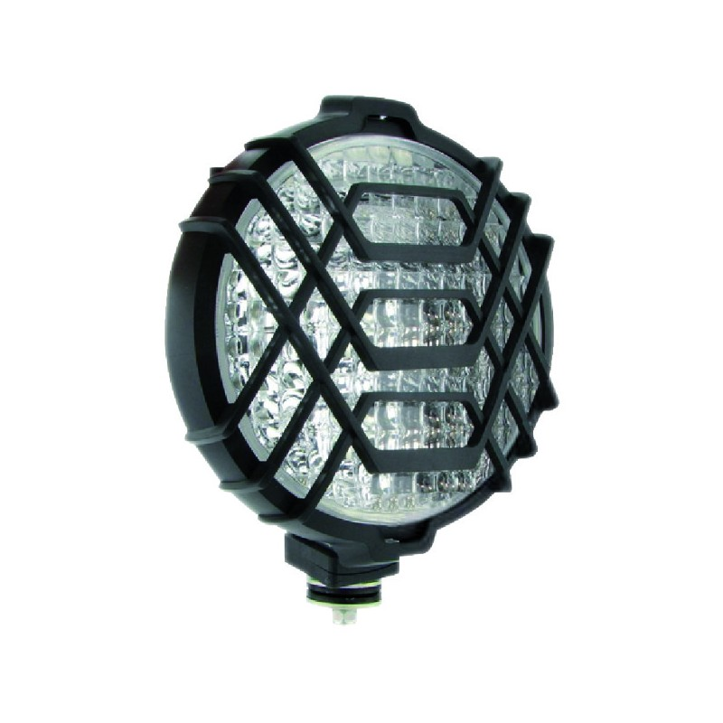 PHARE ROND GRILLE D.160x70 ABS