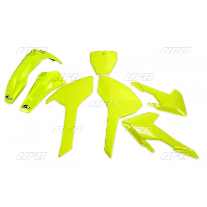COUVERCLE BOITE AIR UFOCRF450R/RX 17 JAUNE FLUO